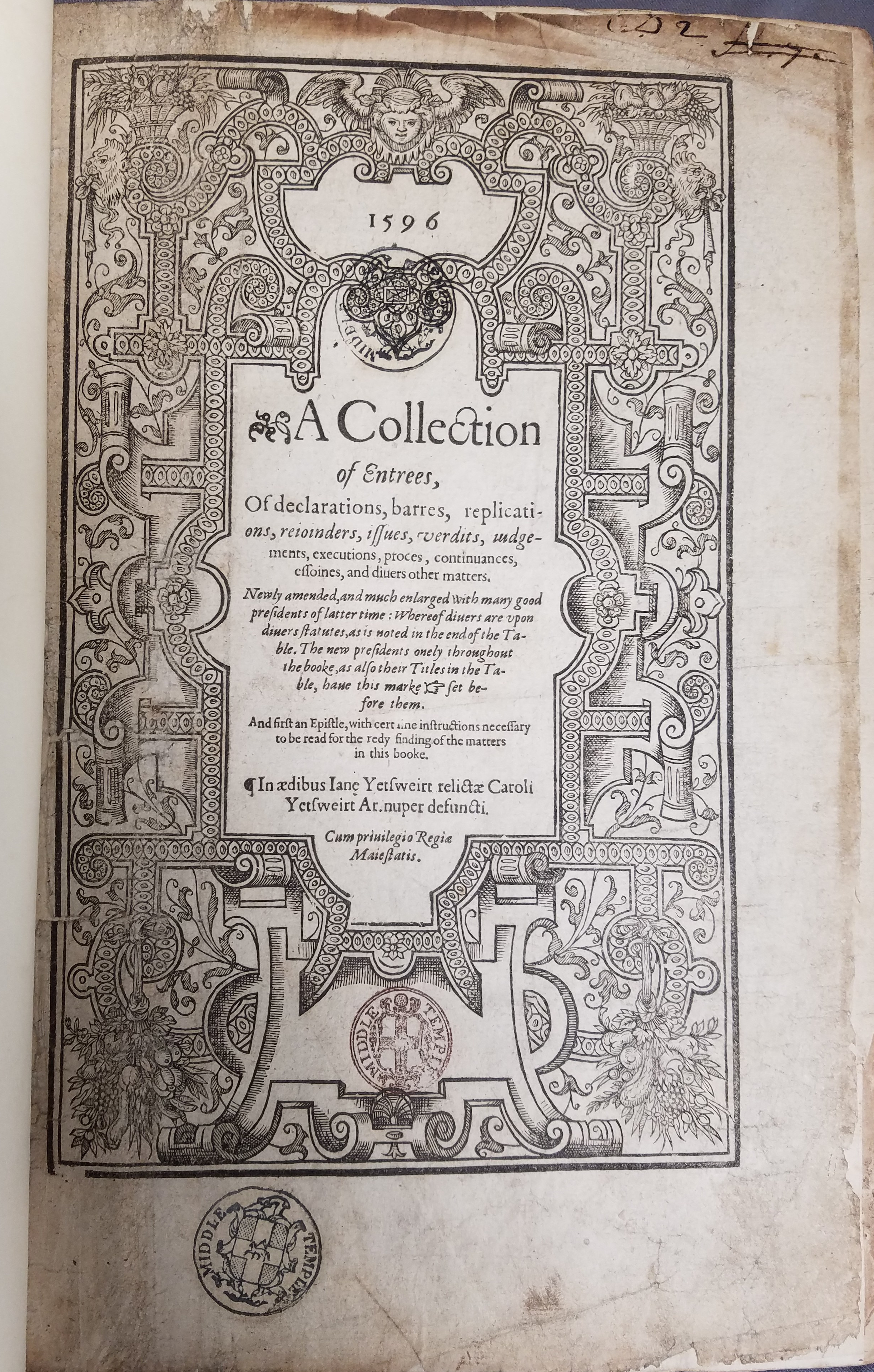 Title page A collection